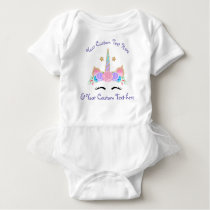 Custom Personalized Unicorn Tutu Birthday Shirt