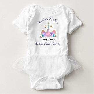 Custom Personalized Unicorn Tutu Birthday Shirt