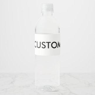Water Bottle Labels | Zazzle
