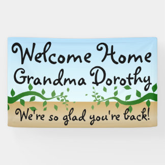 Custom Personalized Welcome Home Sign