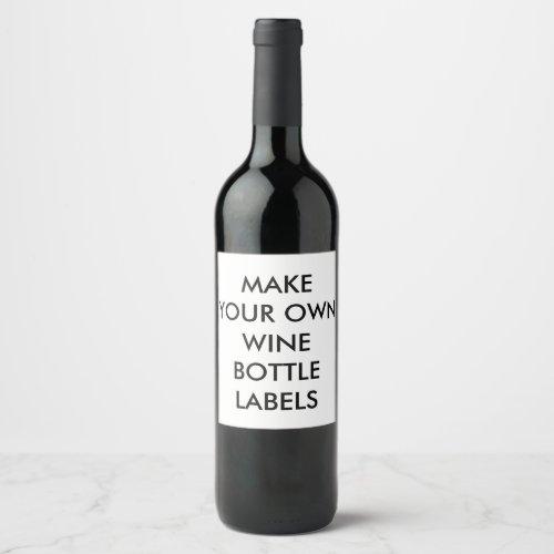Custom Personalized Wine Bottle Labels 6