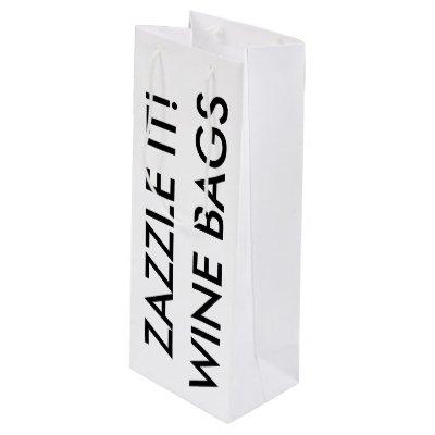 Twisted Rope Vintage Kaleidoscope Wine Bags | Zazzle.com