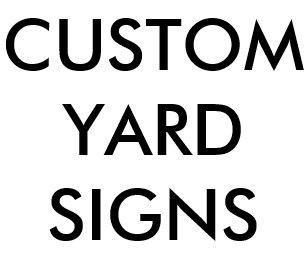 Blank Yard & Lawn Signs | Zazzle