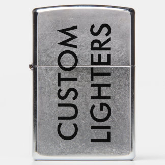 Custom Personalized Zippo Lighter Blank Template
