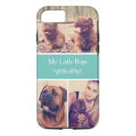 Custom Pet Dog Instagram Photo Collage Iphone 8/7 Case at Zazzle