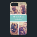 "Custom Pet Dog Instagram Photo Collage iPhone 8/7 Case<br><div class=""desc"">Protect your iPhone with this Personalized &quot;Pet Dog Instagram Photo Collage&quot; stylish case! This is a perfect way to show off your pet photos. Just choose 3 best pictures from your computer or Instagram and upload to this phone case template. It&amp;#39;s super easy and fun. If you need further customization,...</div>"