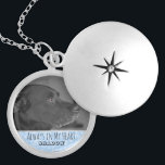 """Custom Pet Memorial Photo Keepsake Locket 