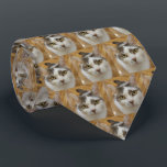 """Custom Pet or Family Photo Personalized Neck Tie<br><div class=""""desc"""">Upload a photo and easily create your personalized photo pattern neck tie. You can TRANSFER this DESIGN on other Zazzle products and adjust it to fit most of the Zazzle items. You can also click CUSTOMIZE FURTHER to add, delete or change details like background color, text, font, or some graphics....</div>"""