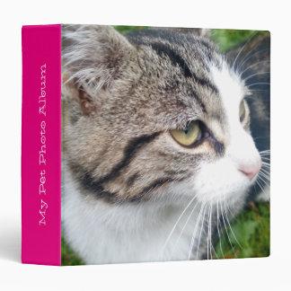 Custom pet photo album   Add your image here Vinyl Binder