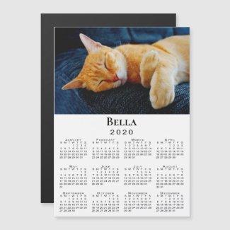 Custom Pet Photo and Name 2020 Calendar