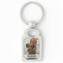 Custom Pet Photo Key Chain