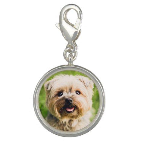 Custom Pet Photo Keyring Pendant Charm