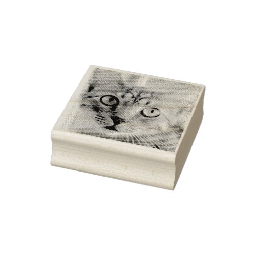 Custom Pet Photo Rubber Stamp