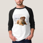 "Custom Pet Photo Shirt<br><div class=""desc"">Show off your fur baby with a custom printed tee. Upload your own photo and add your own text to suite.</div>"
