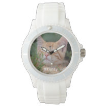 Custom Pet Photo Watch