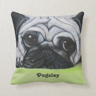 Custom Pet Pug Pillows