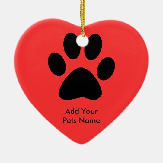 Custom Pets Ceramic Ornament