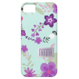 Custom Phone Case Floral Embroidered Effect new in