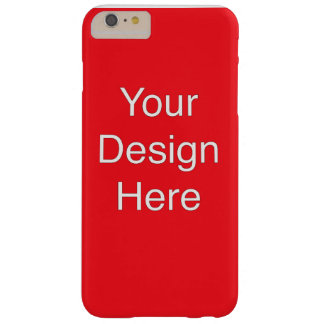 Custom Phone cases Barely There iPhone 6 Plus Case