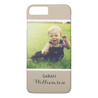 Custom Phone with Family Kids Baby Personal Photo iPhone 7 Plus Case