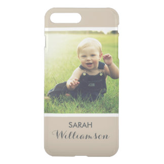 Custom Phone with Family Kids Baby Personal Photo iPhone 8 Plus/7 Plus Case