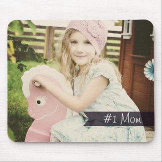 Custom Photo #1 Mom Mouse Pad
