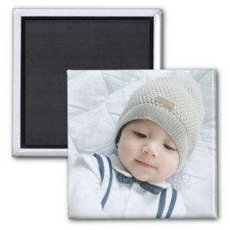 Custom Photo 2 Inch Square Magnet