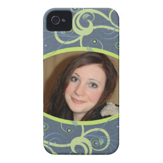 Custom Photo Abstract BlackBerry Barely There Case Case-Mate iPhone 4 Case