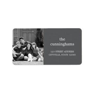Custom Photo Address Label