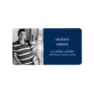 Custom Photo Address Label Personalized Address Label
