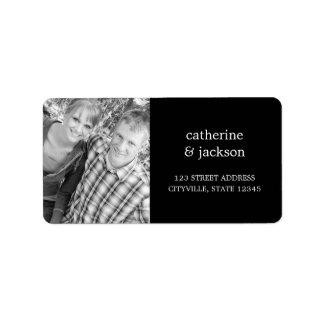 Custom Photo Address Label Custom Address Label