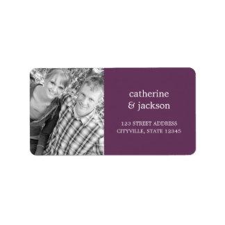 Custom Photo Address Label Custom Address Labels