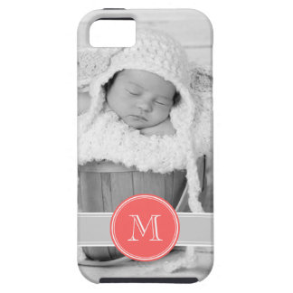 Custom Photo and Monogram Personalized iPhone 5 Case