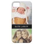 Custom Photo and Monogram Personalized iPhone 5 Case