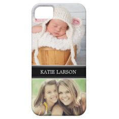 Custom Photo And Monogram Personalized Iphone Se/5/5s Case at Zazzle