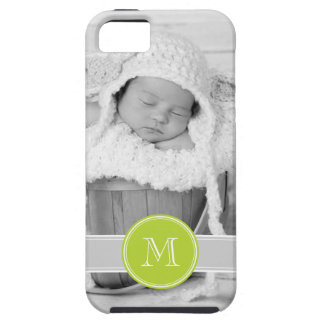 Custom Photo and Monogram Personalized iPhone SE/5/5s Case