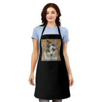 Custom Photo and Name Personalized Adult Apron