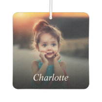 Custom Photo And Name Personalized Air Freshener