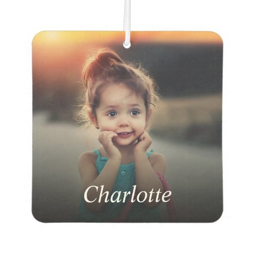 Custom Photo And Name Personalized Air Freshener