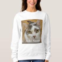 Custom Photo and Name Personalized Sweatshirt