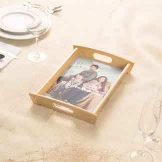 Custom Photo and/or Text Serving Tray