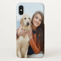 Custom Photo Apple Glossy iPhone X Case