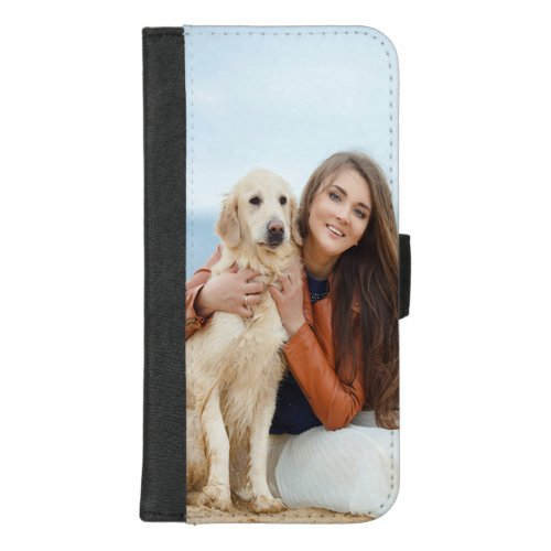 Custom Photo Apple iPhone 8/7 Plus Wallet Case