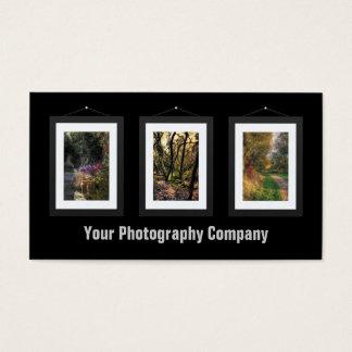 Custom Photo Art Gallery Business Cards