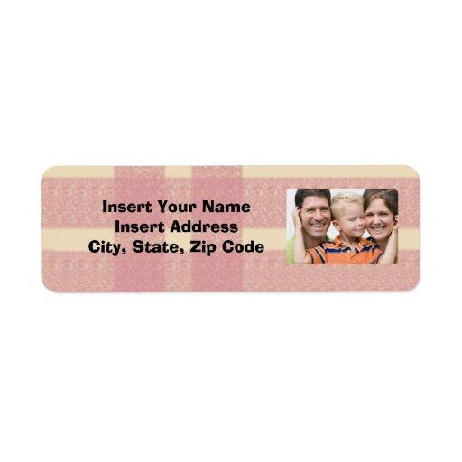 Custom Photo Avery Address Label