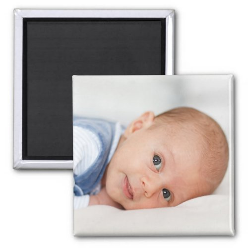 Custom Photo Baby Family Pet Couple Keepsake Magnet