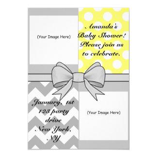 Custom Photo_Baby Shower Invitation Yellow