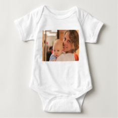 Custom Photo Baby Wear Baby Bodysuit at Zazzle