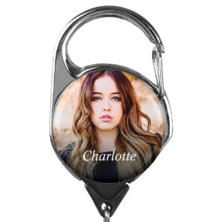 Custom Photo Badge Holder