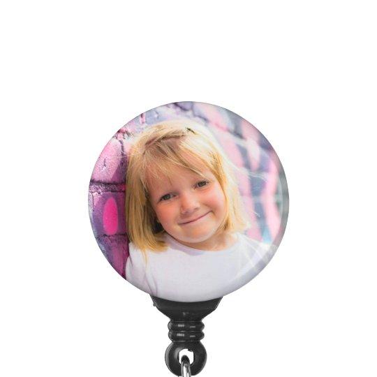 Custom photo badge reel make your own badge holder zazzle custom photo badge reel make your own badge holder solutioingenieria Gallery